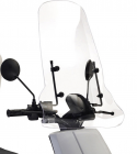 IVA E-GO S4 Hoog Windscherm Transparant
