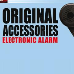 Vespa Alarm Incl. Back-up Noodstroom