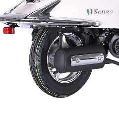 Velg Achter Senzo GT2/GT2 Excl 10 inch