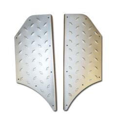 Senzo Retro Voetplaten Aluminium
