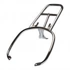 Vespa Sprint/Primavera Chroom Achterdrager voor koffer Origineel