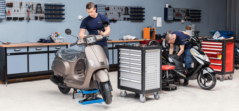 scooter-rijklaar-maken